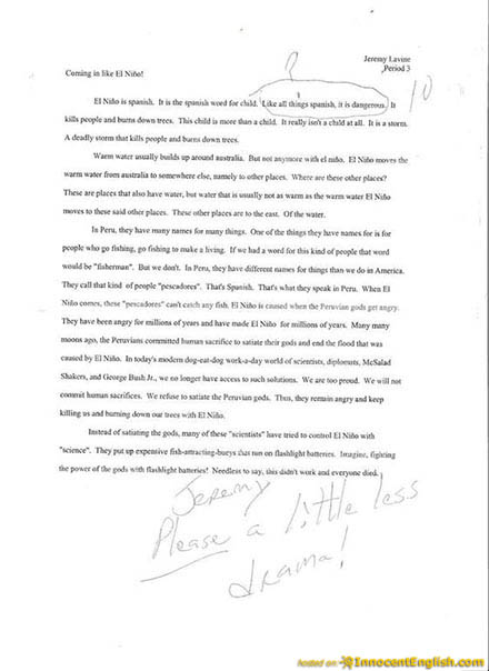Funny Quotes About Writing Essays