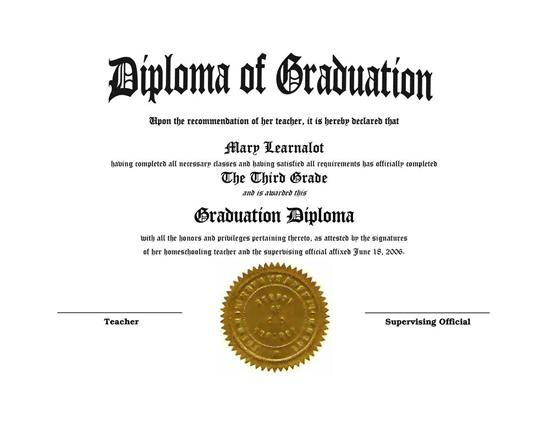 Obsessed image with regard to printable home school diploma