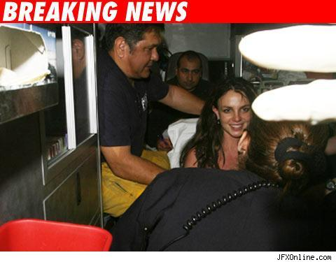 Britney Spears in Ambulance after 911 call domestic dispute