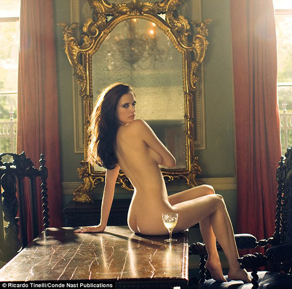 Eva Green Nude Picture in U.K. magazine