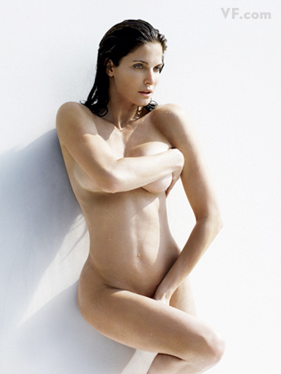 Nude Stephanie Seymour Picture for Naked Vanity Fair Photo Shoot